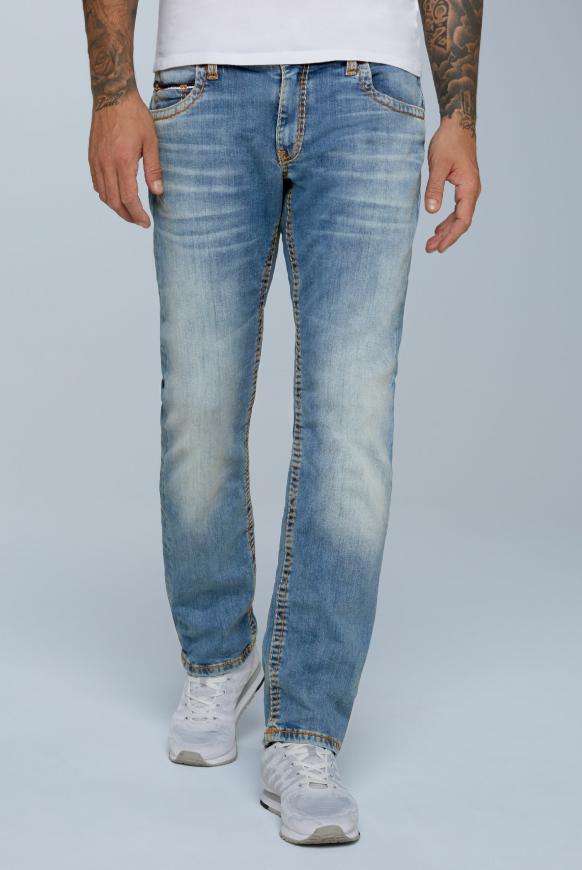 Comfort Fit Jeans CO:NO im Retro Style light vintage