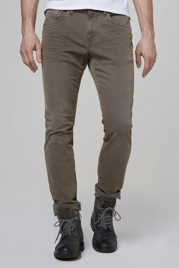 Five-Pocket-Jeans DA:VD brown