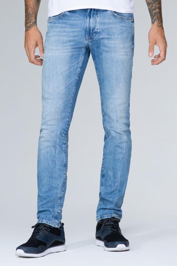 Five Pocket Jeans NI:LS im Light Used Look light used