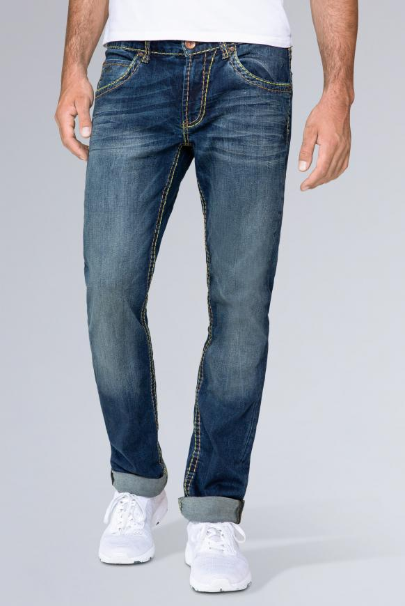 Jeans NI:CO Regular Fit, dark used dark used