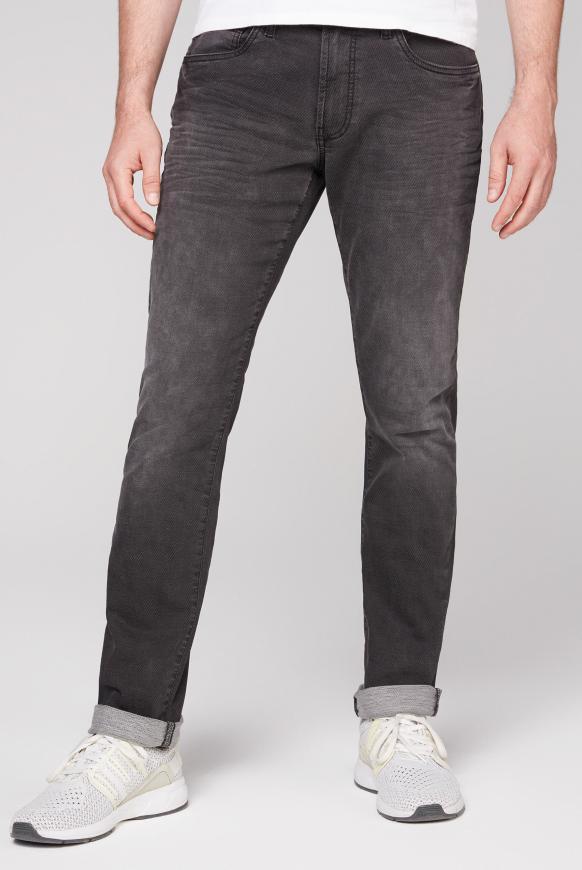 Jeans NI:LS aus Jogg Denim mit Used-Waschung grey jogg