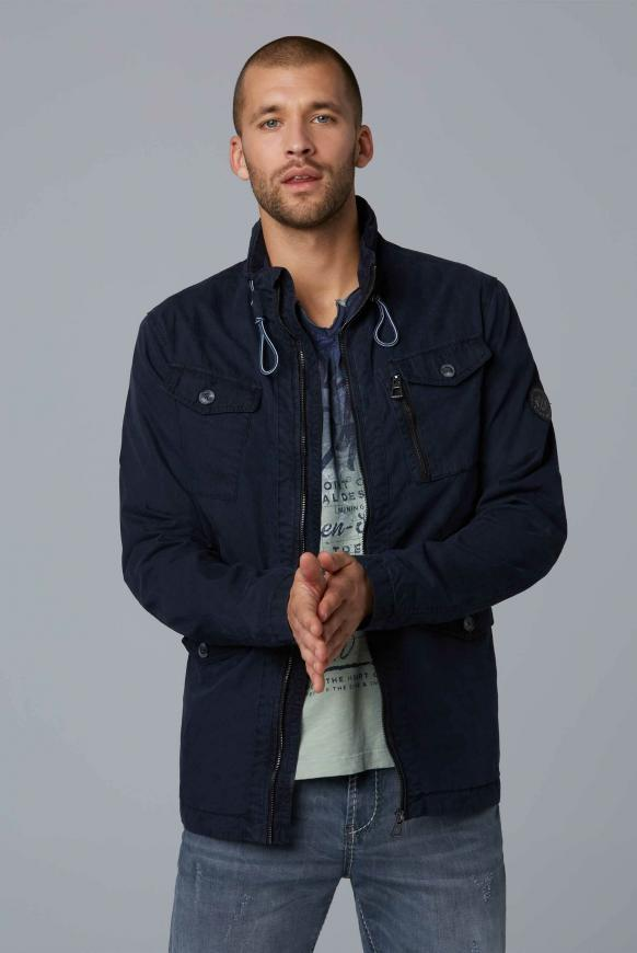 Leichte Fieldjacket dark navy