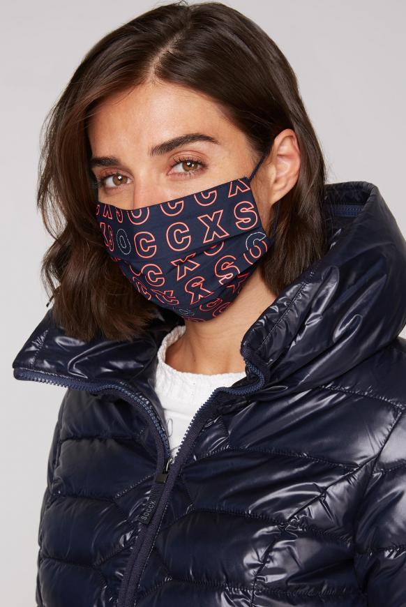 Mund-Nasen-Maske (Stoffmaske) 4er Pack diverses