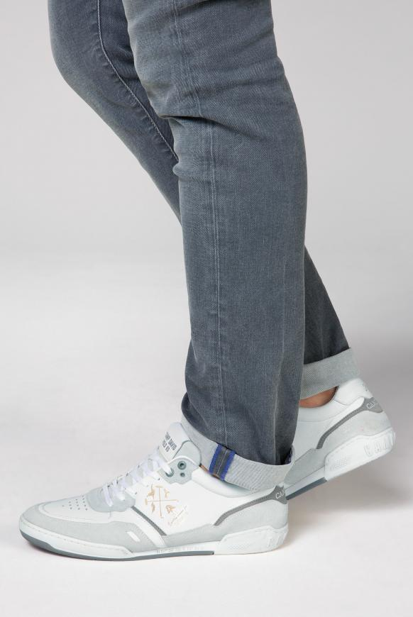 Premium Leder Sneaker opticwhite