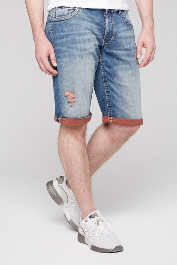 Skater Jeans CO:NO mit gefärbter Innenseite vintage used