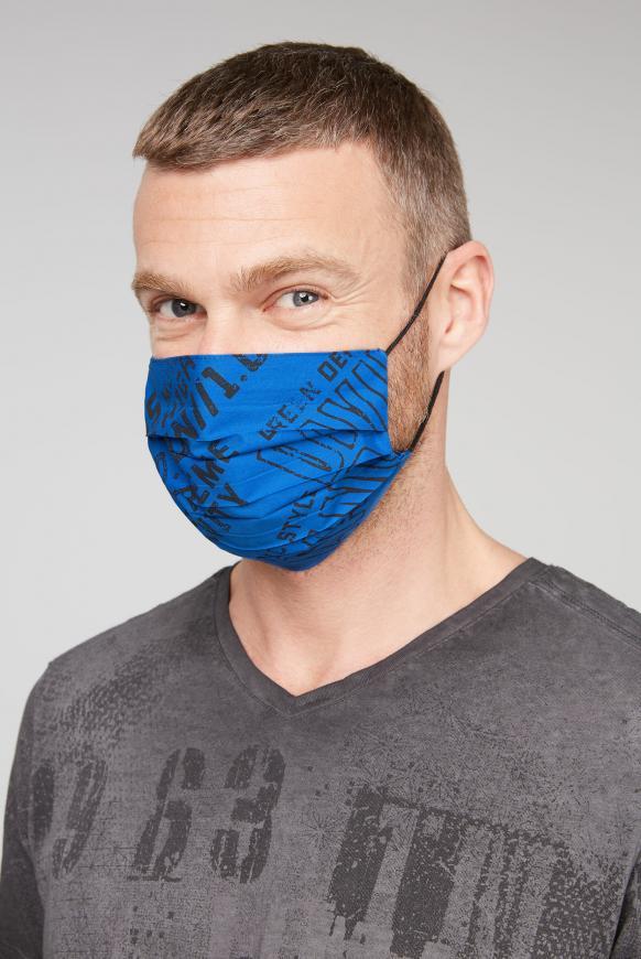 Stoffmasken mit Label Print 4er Pack diverses