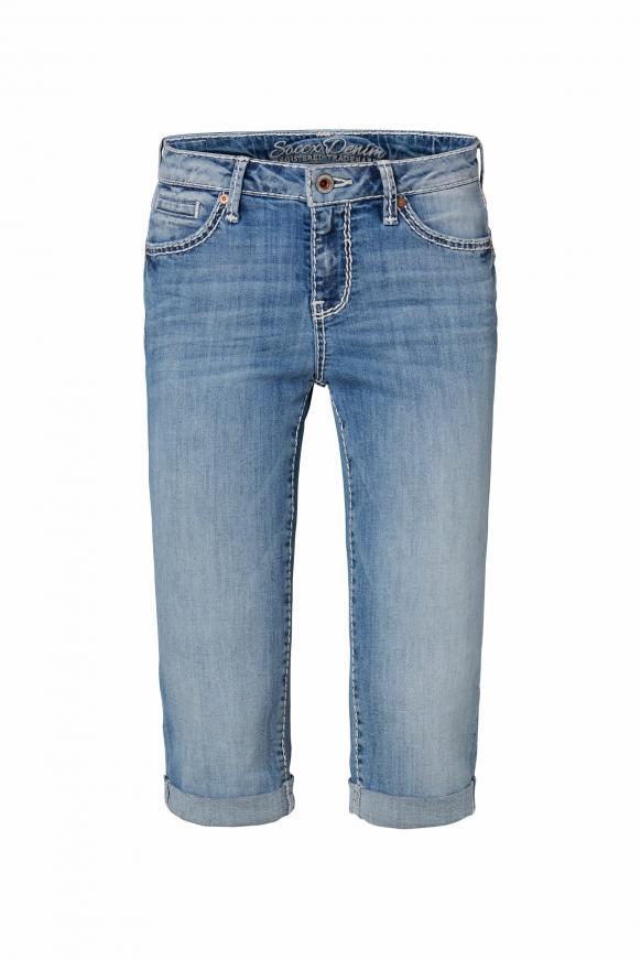 Bermuda Jeans RO:MY mit Vintage Look light used