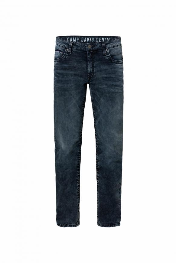 Comfort Fit Jeans CO:NO im Used Look blue black vintage