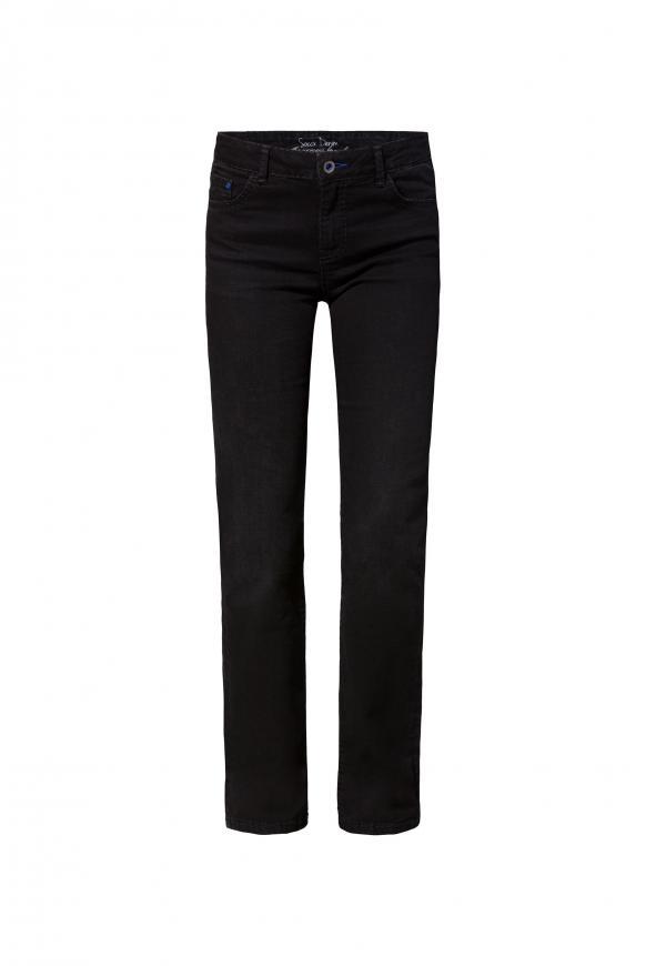 Comfort Shape Jeans EL:KE mit geradem Bein black