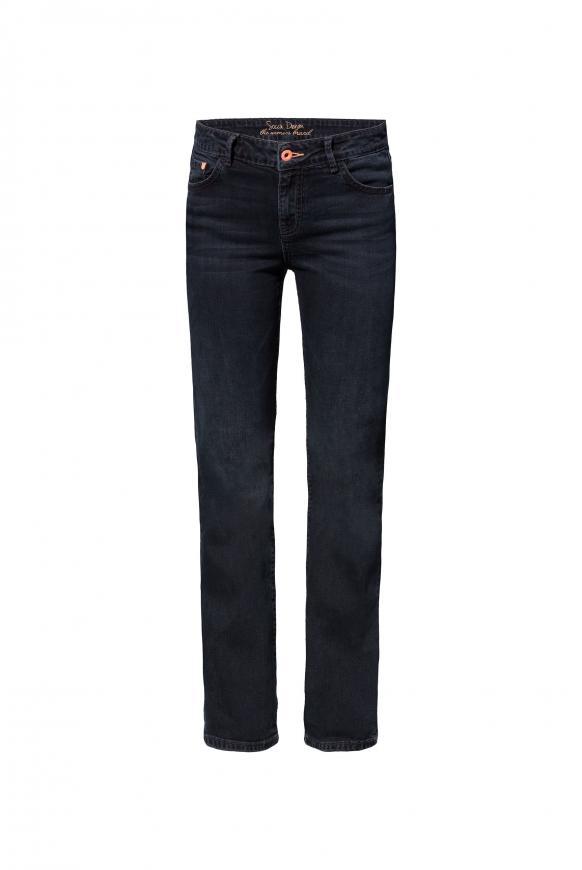 Comfort Shape Jeans EL:KE mit Vintage-Waschung blue black