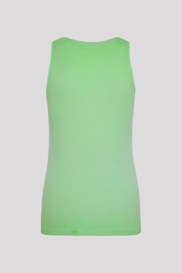 Ripptop Oil Dyed mit Glitter Print lemon drop