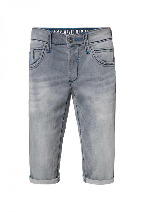 Skater Shorts RO:BI aus bequemen Sweatmaterial vintage grey