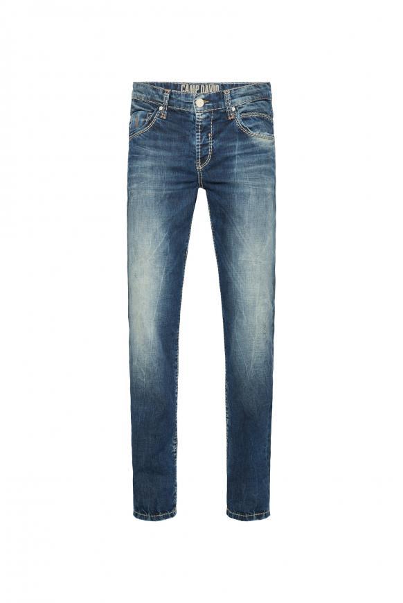 Slim Fit Jeans RO:BI mit Vintage-Optik vintage used