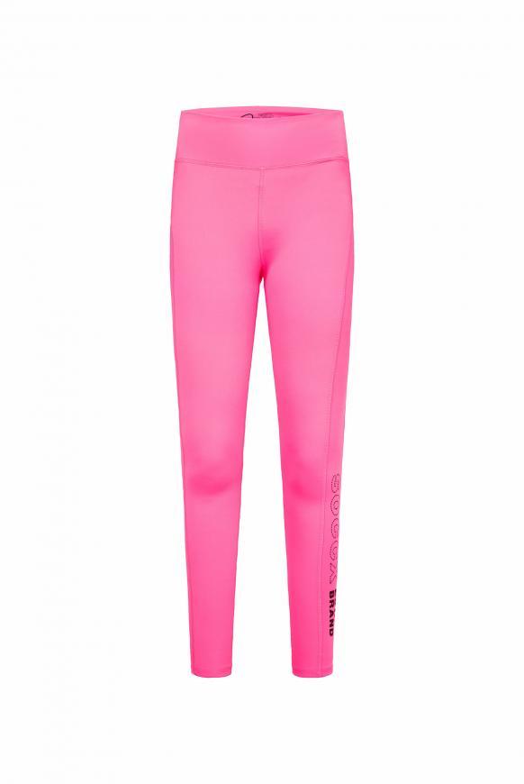 Sport-Leggings mit Print Artwork knockout pink