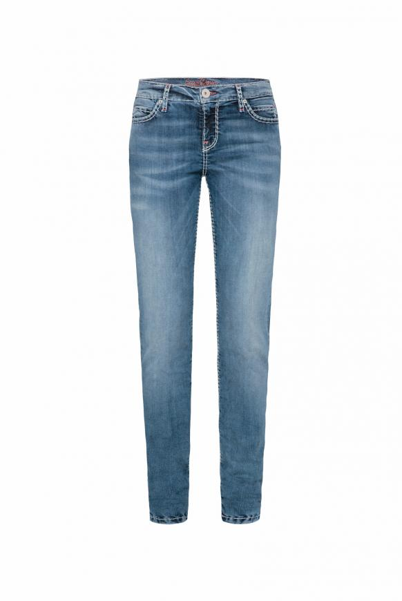Stretch-Jeans HE:DI mit Vintage Stone Waschung vintage stone