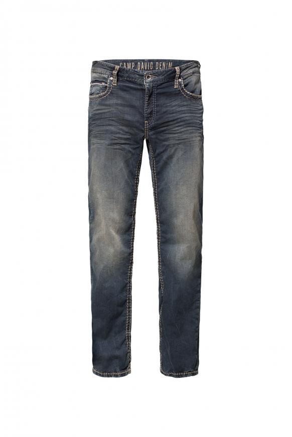 Sweatmaterial im Denim Look Jeans CO:NO blue black jogg