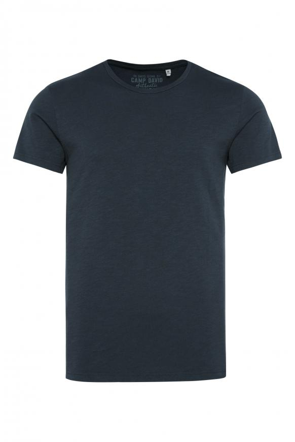 T-Shirt mit Rundhalsausschnitt deep sea