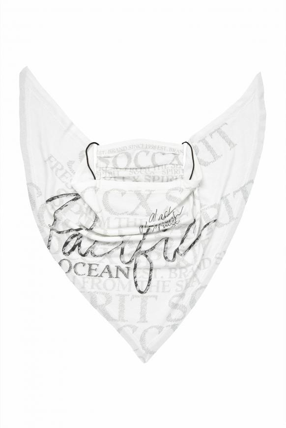 Triangle-Tuch mit Logo Artwork offwhite