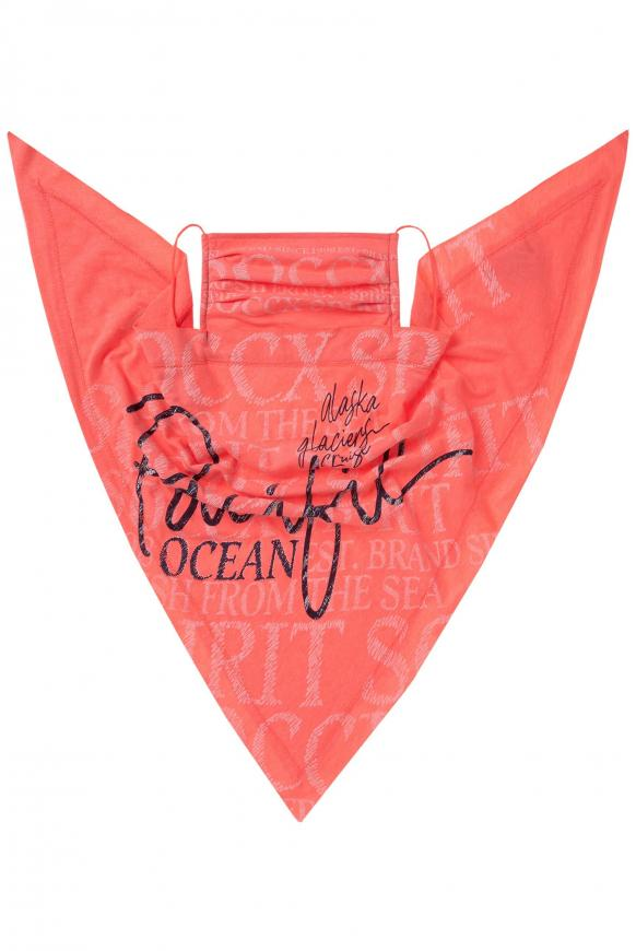 Triangle-Tuch mit Logo Design flashy red