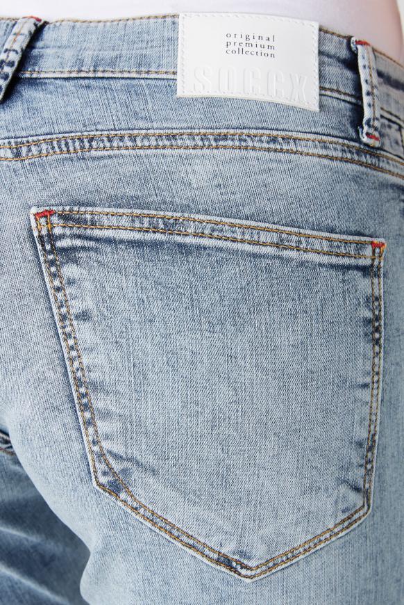 Jeans MI:RA mit Seitenstreifen