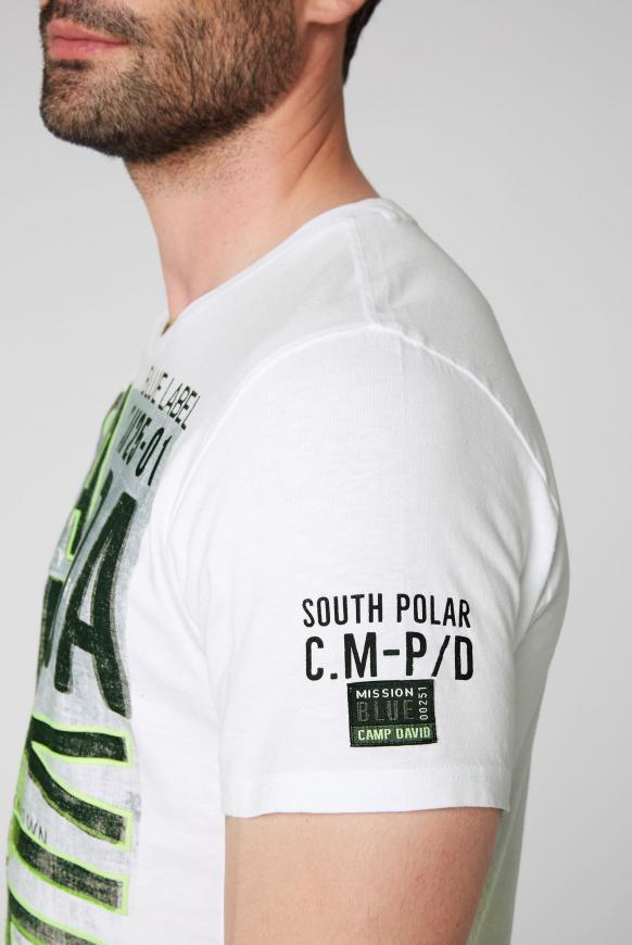 T-Shirt mit Logo Prints