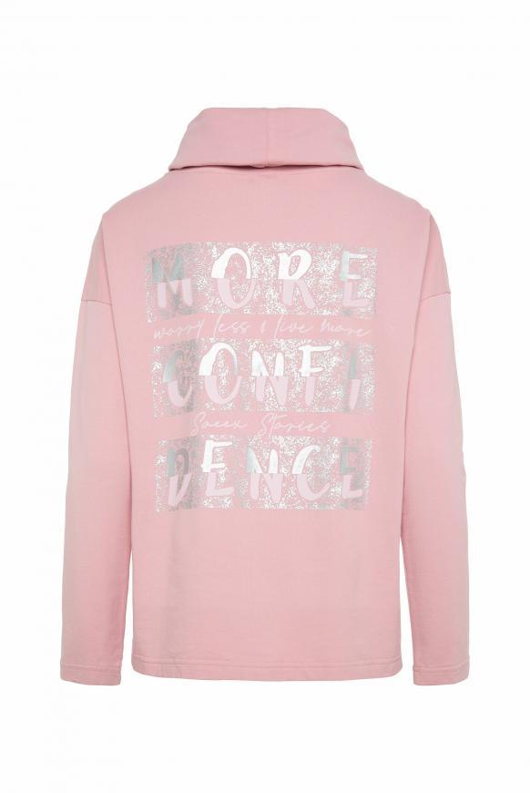 CAMP DAVID & SOCCX   Sweatshirt mit hohem Kragen und